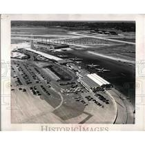 1962 Press Photo La Guardia Terminal Area - nea56438