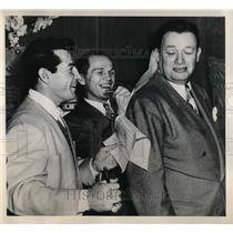1948 Press Photo Middleweight Champion Boxer Rocky Graziano & Tone Zale