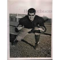 1936 Press Photo Jack Wright, tackle on Yale University's 1936 football team