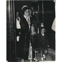 1933 Press Photo Mrs Machada Wife of Deposed President of Cuba - nea62740