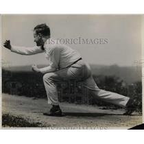 1921 Press Photo Univ. of Pittsburgh cheerleader, Jim Scott