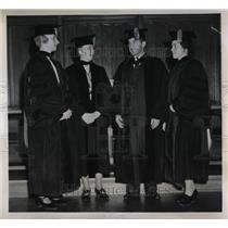 1938 Press Photo Professors Kaan, Johnstin, Zigler And Dodson, Sigma XI Officers