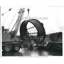 1959 Press Photo Part of Silo for Minuteman Missile, Boeing Airplane Company