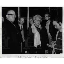 1972 Press Photo Mr & Mrs rank Gembala Passengers of Hijacked Plane - nea70052