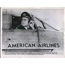 1952 Press Photo Capt. Thomas Reed of American Airlines - nea83890