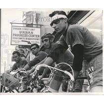 1937 Press Photo Urban Progress Center Bicycle Club - RRT22345