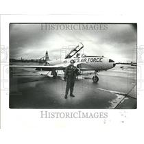 1980 Press Photo Steve Thorpe Aircraft - RRT23513
