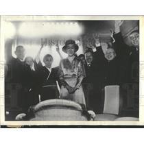 1933 Press Photo Princess Chikako Kuni Imperial Palace - RRT73347