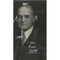1930 Press Photo Henry Moesta Salesman Former - RRT05413