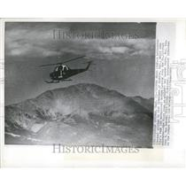 1955 Press Photo Copter Nears Peak Jack Zimmerman Helic - RRT22155