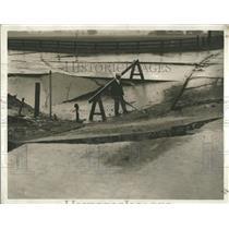 1930 Press Photo Detroit Public Work Sewer Southfield - RRT58037