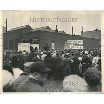 1949 Press Photo United Packing House America CIO NLRB