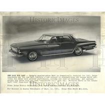 1961 Press Photo 1962 model of Dodge Dart. - RRT29093