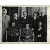 1936 Press Photo Nobel Awards Stockholm Sweden Prize - RRT33455