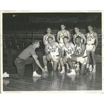 1968 Press Photo Cage Bright Quincy College Veterans - RRT22707