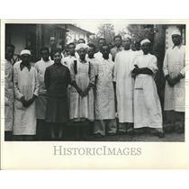1948 Press Photo Ethiopia WHO Organization Doctor - RRT28061