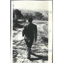1961 Press Photo South African Teacher Albert Lutuli - RRT70811