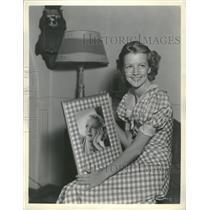 1933 Press Photo Elizabeth Mary Furness American Actres - RRT67997
