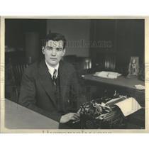 Press Photo Herbert Hoover Jr. Radio Airplanes