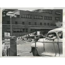 1955 Press Photo Children's Hospital Automated Parking