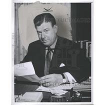 1957 Press Photo Arthur Godfrey radio telivision image