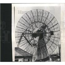 1956 Press Photo Radio Telescope/HarvardUniv./Astronomy - RRT15261