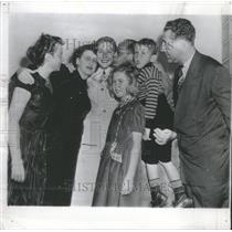 1949 Press Photo Shirley May France Swimmer - RRT64611