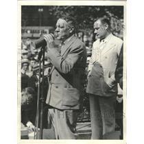 1933 Press Photo Mayor Ray T. Miller of Cleveland - RRT52085