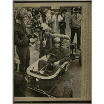 1972 Press Photo Bathtub Race Winner Marietta Georgia