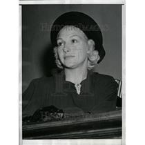 1939 Press Photo Dorothy Pointon Hill In Divorce Court - RRT35327