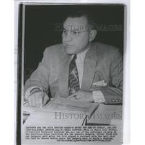 1958 Press Photo Phill Silver Legal Battler Los Angeles