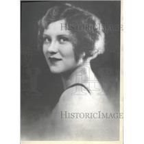 1930 Press Photo Actress Margaret Frueauff Fanning Perr - RRT68423