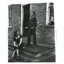 1937 Press Photo Students Take Break At Michigan School