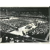 1971 Press Photo Black Student Unity International - RRT29913