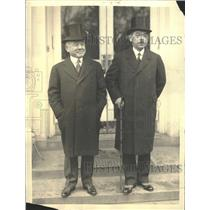 1933 Press Photo Yosuke Matsuoka Ambassador Debuchi - RRT50829