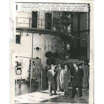 Press Photo Duke of Edinburgh Chalk River Atomic Site