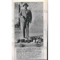 1949 Press Photo Gen. Francisco Franco went hunting - RRT64505