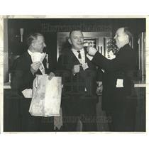 1962 Press Photo Jack Gillis, O.L. Cook & Robert Franch - RRT20713
