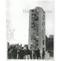 1939 Press Photo Wars Memorials Mich State - RRT81517
