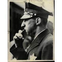 1936 Press Photo John Klicka Policeman