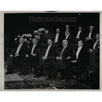 1937 Press Photo Recipients Nobel Prize Distributed - RRT33451