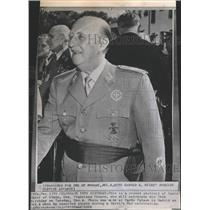 1963 Press Photo Spain Chief of State Gen. Franciso Fra - RRT64447