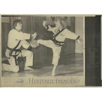 1976 Press Photo Matt Hodges 6yr Karate Black Belt WV - RRT24059
