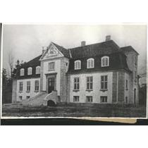 1935 Press Photo Copenhagen Estate of Count Maugwitz