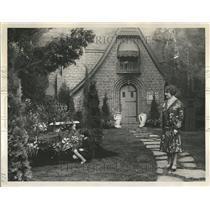 1929 Press Photo Flowers Show Detroit North American