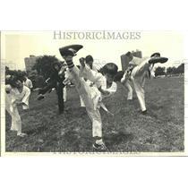 1980 Press Photo Karate - RRT24043