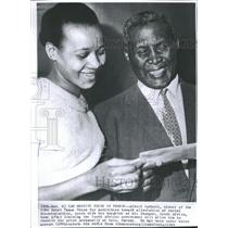 1961 Press Photo Albert Luthuli 1960 Nobel Peace Prize - RRT70815