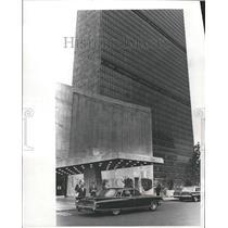 1965 Press Photo Ambassador Morocco UN Security Council