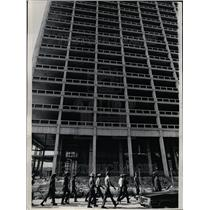 1965 Press Photo Community Action Members Construction - RRT39733