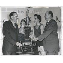 1958 Press Photo Fred C. Matthew Trophy Athletics - RRT10309